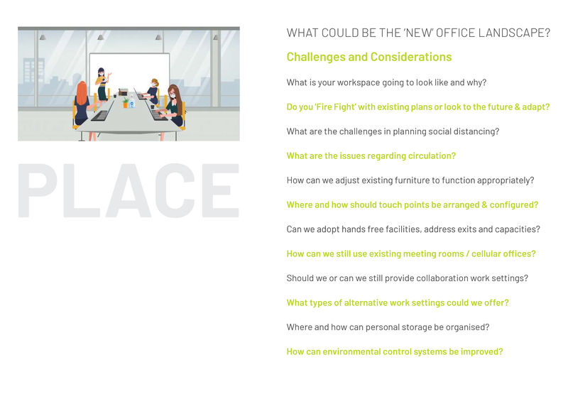 As we adapt to a new life alongside COVID-19, what will be the new office landscape?